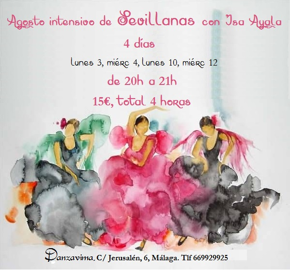 danzavima sevillanas intensivo agosto 2015